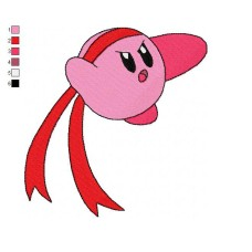 Kirby 03 Embroidery Design