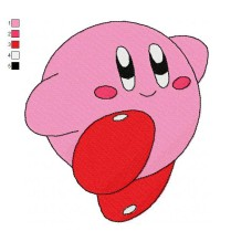 Kirby 04 Embroidery Design