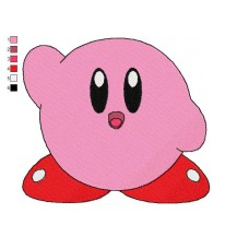 Kirby 06 Embroidery Design
