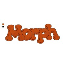 Logo The New Adventures of Morph Embroidery Design