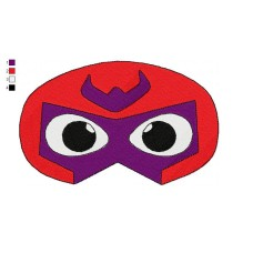 Mask Magneto Embroidery Design