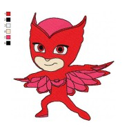 PJ Masks 01 Embroidery Design