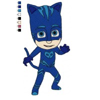 PJ Masks 02 Embroidery Design
