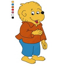 The Berenstain Bears 05 Embroidery Design