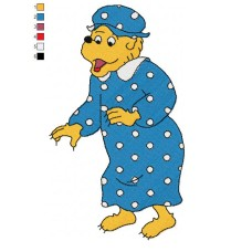 The Berenstain Bears 06 Embroidery Design