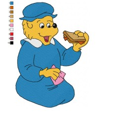 The Berenstain Bears 07 Embroidery Design