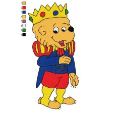 The Berenstain Bears 10 Embroidery Design