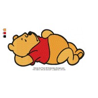 Winnie the Pooh 38 Embroidery Designs